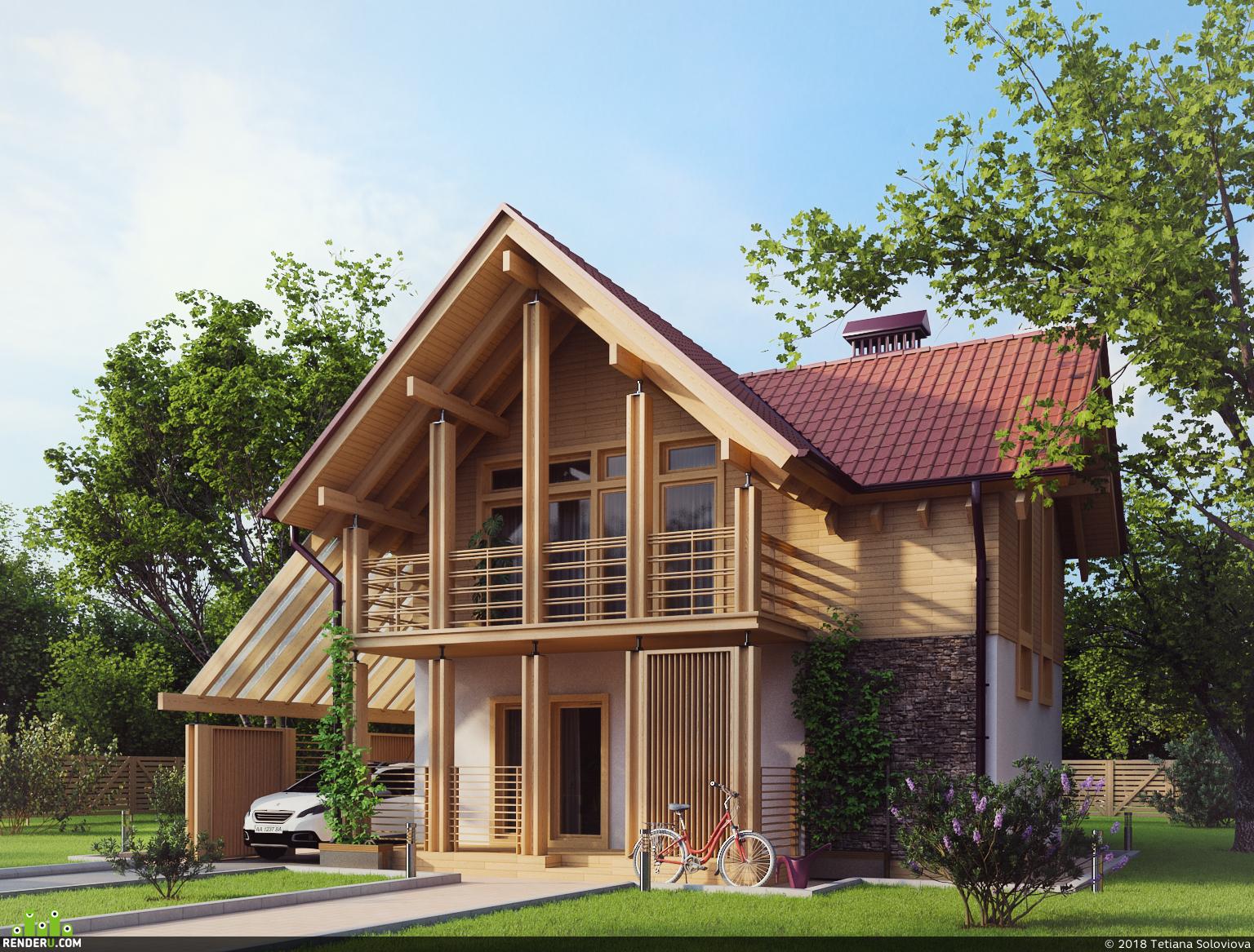 Комбинированный дом 1