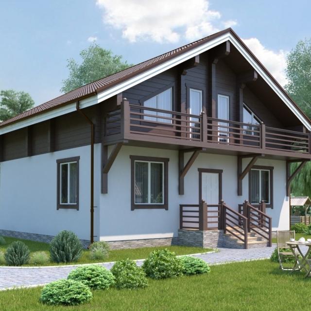 Комбинированный дом 4