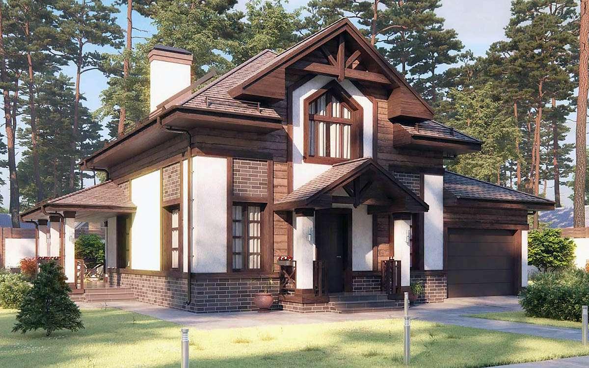 Комбинированный дом 2
