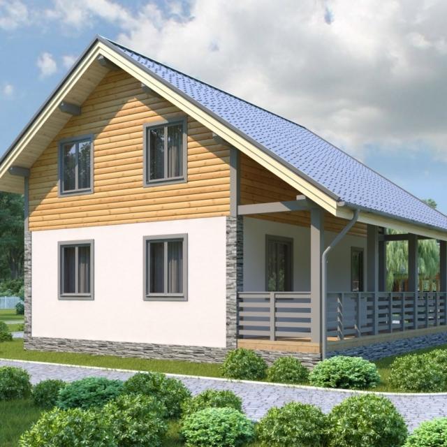 Комбинированный дом 5