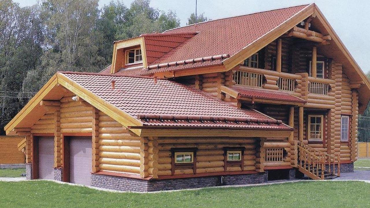 Дом из оцилиндрованного бревна 3