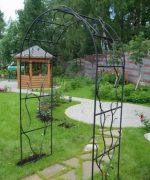 Арка из арматуры своими руками – как сделать садовую арку из арматуры своими руками