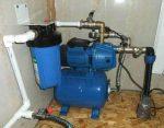 Как подключить насосную станцию к скважине – Как подключить насосную станцию к скважине схема