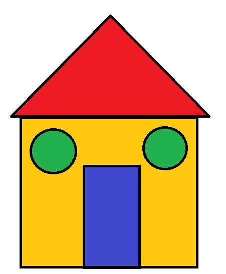 при оформлении картинка домик с окошками разной формы соревнуются сцене, где